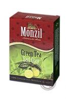 "Чай MONZIL ""Green Tea Earl Grey"" зеленый с бергамотом 100 г"