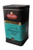 Чай ST.CLAIR'S Maroccan Mint зеленый с марокканской мятой 100г в ж/б