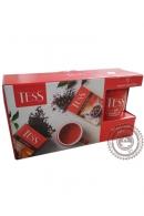 Набор чая TESS листовой 2 вида с кружкой