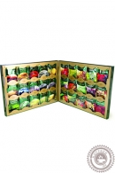 Набор чая и напитков GREENFIELD, 120 пакетов (30 видов чая по 4 шт каждого)
