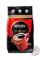 """Кофе Nescafe """"Classic"""" 750г растворимый с добавлением молотого"""