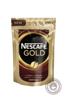 Кофе «Nescafe» Gold 75г растворимый сублимированный с добавлением молотого