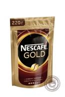 Кофе «Nescafe» Gold 220гр астворимый сублимированный