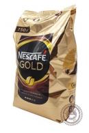 Кофе «Nescafe» Gold 750г растворимый сублимированный