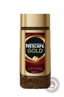 Кофе «Nescafe» Gold 95г растворимый сублимированный с добавлением молотого