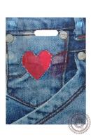 """Пакет """"Монетный карман"""", полиэтиленовый с вырубной ручкой, 40х31 см, 60 мкм"""