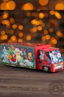 "Подарок новогодний ""Машинка для сладкоежки"" 540гр премиум"