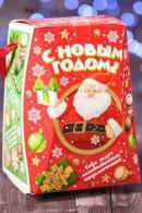 """Подарок новогодний """"Гостинец Санты"""" 535гр премиум"""