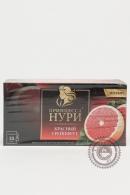 """Чай ПРИНЦЕССА НУРИ """"Красный грейпфрут"""" черный 25 пакетов"""