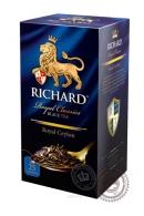"""Чай RICHARD """"Royal Ceylon"""" черный в пакетиках 25 шт по 2г"""