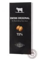 Шоколад SWISS ORIGINAL, горький с фундуком 100 г