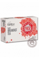 "Чай Tarlton ""Black Tea English Breakfast"" черный 100 пакетов"