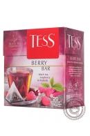 """Чай TESS """"Berry Bar"""" (мята+ малина) 20 пир чёрный"""