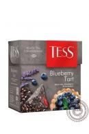 """Чай TESS """"Blueberry Tart"""" черный с черникой и лавандой 20 пирамидок"""