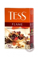 "Чай TESS ""Flame"" (земляника+апельсин+розовый перец) 90г фруктово-травяной"