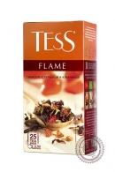 "Чай TESS ""Flame"" (земляника+розовый перец+вербена) 25 пак фруктово-травяной"