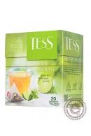 """Чай TESS """"Ginger Mojito"""" (мята+лайм) 20 пир зелёный"""