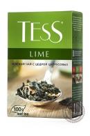 """Чай TESS """"Lime"""" (лимон+шиповник) 100г зеленый"""