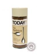 """Кофе """"TODAY"""" Pure Arabica сублимированный 95 г"""