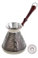 Турка «Ромашка» для кофе медная 0,75 л