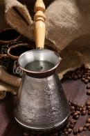 Турка для кофе медная 0,6л «Зодиак»