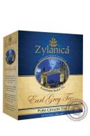 """Чай """"Zylanica"""" Earl Grey черный c бергамотом 100 пакетов, 200 г"""