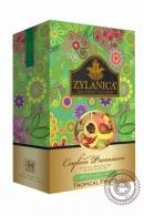 """Чай """"Zylanica"""" Green Tea Tropical Fruits зелёный с тропическими фруктами 100г"""