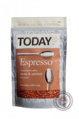 Кофе TODAY ESPRESSO сублимированный 75 г
