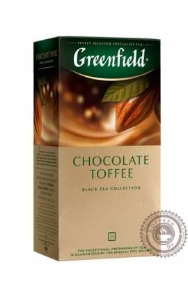 "Чай GREENFIELD ""Chocolate Toffee"" черный 25 пакетов"