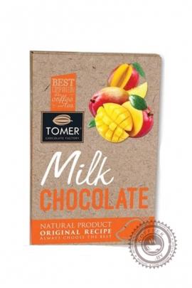 Шоколад ТОМЕР молочный (33%) с манго 90г