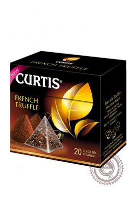 "Чай CURTIS ""French Truffle"" черный 20 пирамидок"