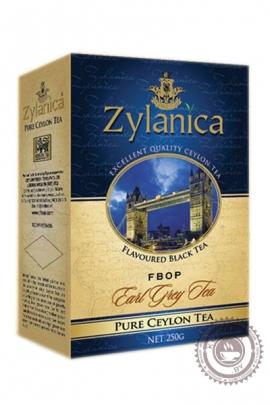 """Чай """"Zylanica"""" Earl Grey FBOP черный c бергамотом 250г"""