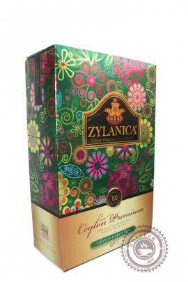 "Чай ""Zylanica"" Сeylon Green Tea зеленый 100 г"