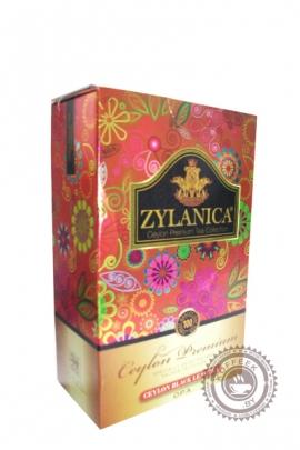 """Чай """"Zylanica"""" Ceylon Premium Tea 100 г черный крупнолистовой"""