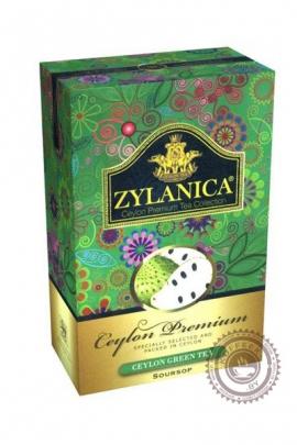 """Чай """"Zylanica"""" Soursop зелёный с суасепом 100г"""
