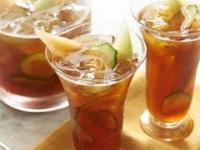 Медовый чай с дыней и огурцом