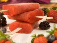 Чайное мороженое с лесными ягодами