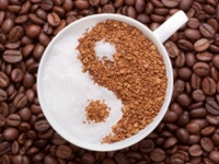 Женщина и кофе